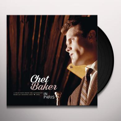 Chet Baker IN PARIS: SELECTION OF BARCLAY RECORDINGS 1955-56 Vinyl Record