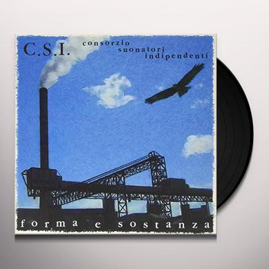 C.S.I. FORMA E SOSTANZA Vinyl Record