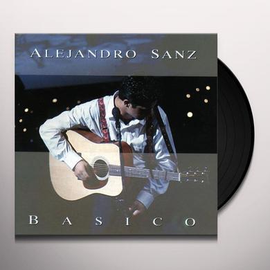 Alejandro Sanz BASICO Vinyl Record