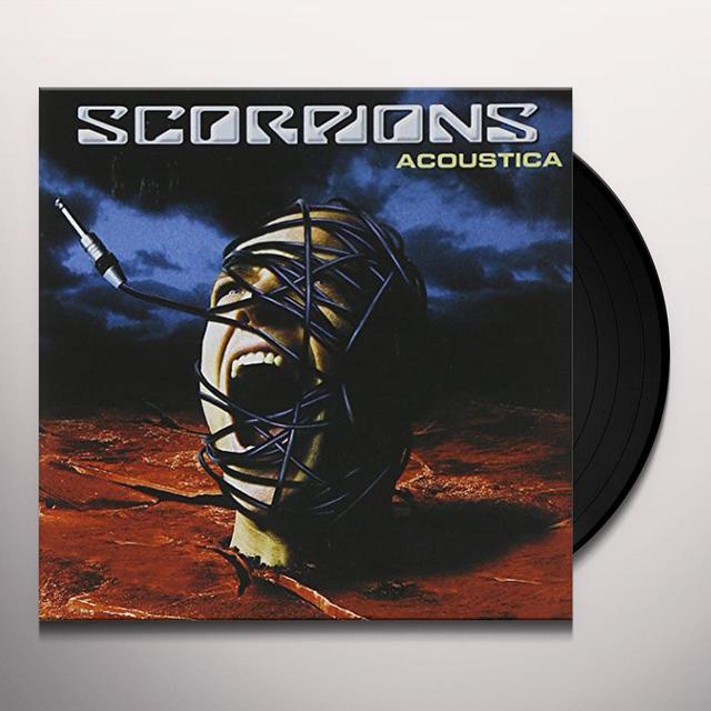 Scorpions Acoustica Vinyl Record