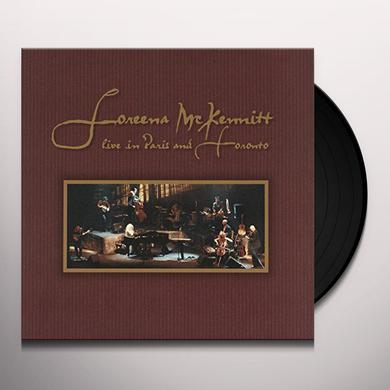 Loreena Mckennitt LIVE IN PARIS & TORONTO Vinyl Record