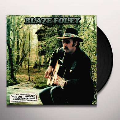 Blaze Foley LOST MUSCLE SHOALS RECORDINGS Vinyl Record