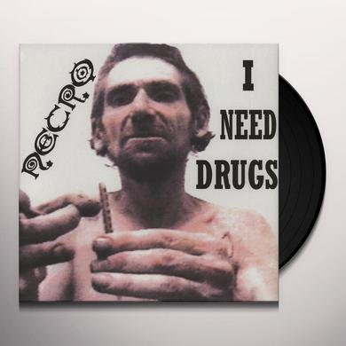 Necro I NEED DRUGS Vinyl Record