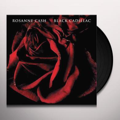 Rosanne Cash BLACK CADILLAC Vinyl Record