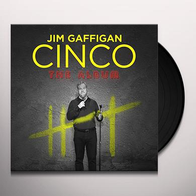Jim Gaffigan CINCO Vinyl Record