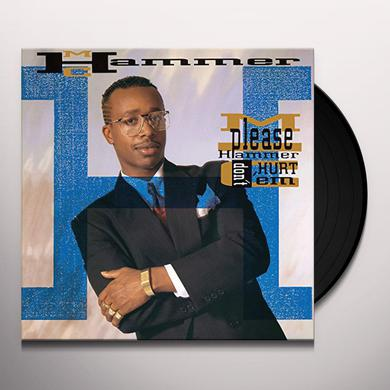Mc Hammer PLEASE HAMMER DON'T HURT EM Vinyl Record