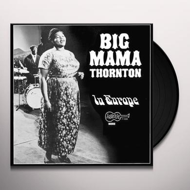 Big Mama Thornton LIVE IN EUROPE Vinyl Record