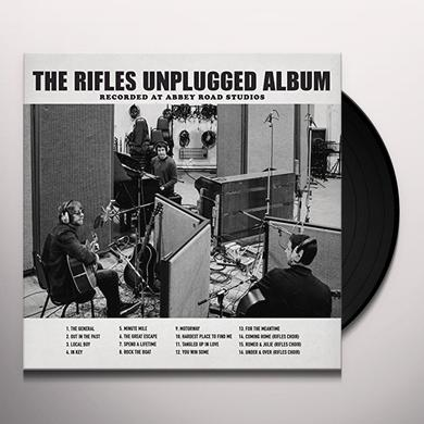RIFLES UNPLUGGED ALBUM: RECORDED AT ABBEY ROAD Vinyl Record