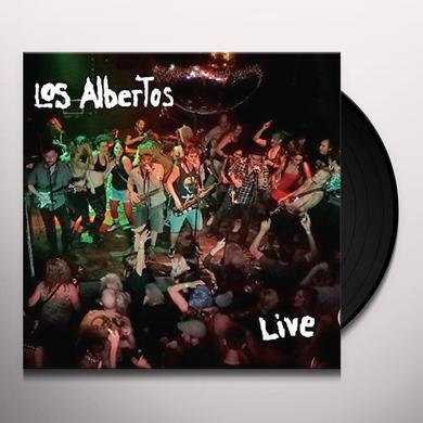LOS ALBERTOS LIVE Vinyl Record