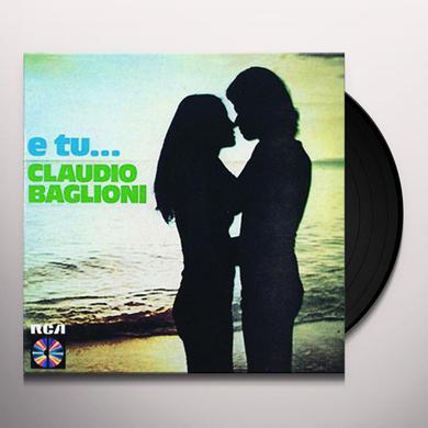 Claudio Baglioni E TU Vinyl Record