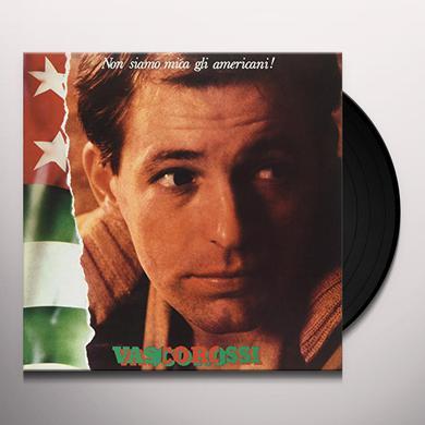 Vasco Rossi NON SIAMO MICA GLI AMERICANI Vinyl Record
