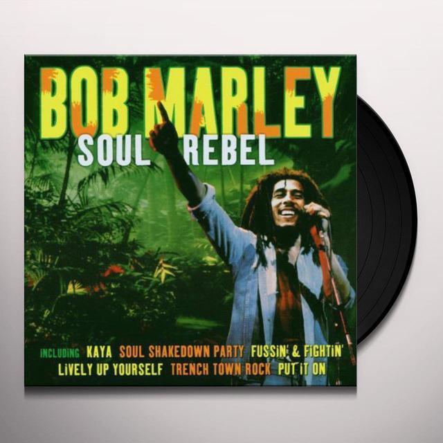 Bob Marley SOUL REBEL Vinyl Record