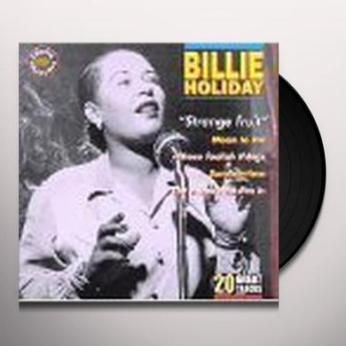 Billie Holiday STRANGE FRUIT Vinyl Record
