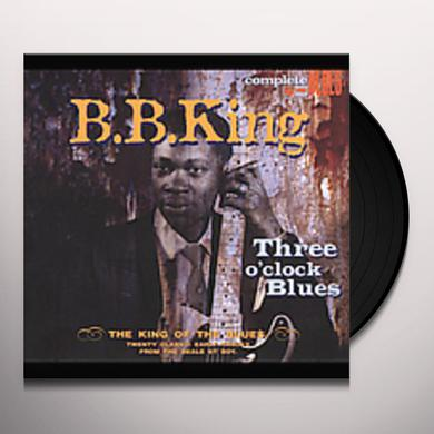 B.B. King THREE O'CLOCK BLUES Vinyl Record