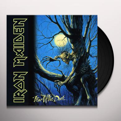 Iron Maiden FEAR OF THE DARK Vinyl Record