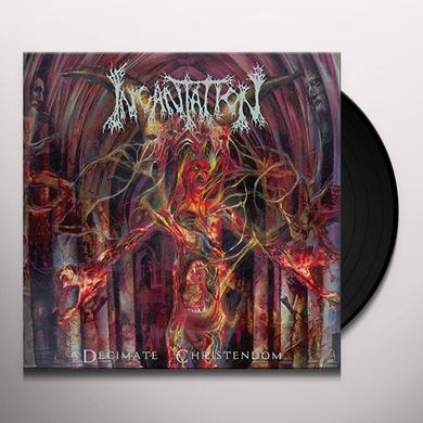 Incantation DECIMATE CHRISTENDOM Vinyl Record
