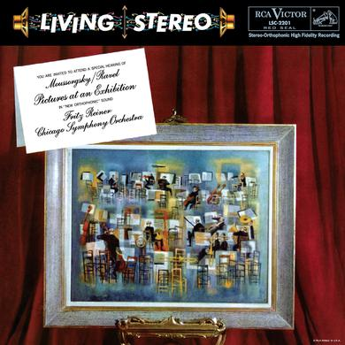 Reiner MOUSSORGSKY / RAVEL: PICTURES AT AN EXHIBITION Vinyl Record