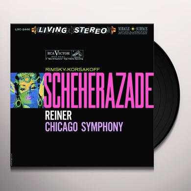 Reiner RIMSKY-KORSAKOV: SCHEHERAZADE Vinyl Record