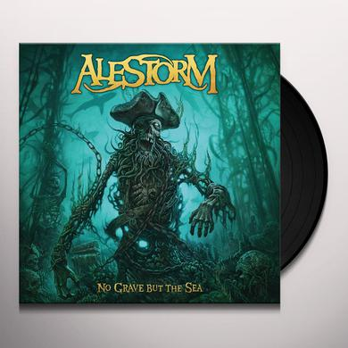 Alestorm NO GRAVE BUT THE SEA Vinyl Record