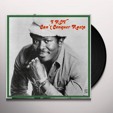 I Roy CAN'T CONQUER RASTA Vinyl Record
