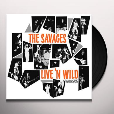 Savages LIVE'N WILD Vinyl Record