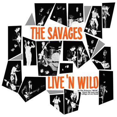 Savages LIVE'N WILD Vinyl Record