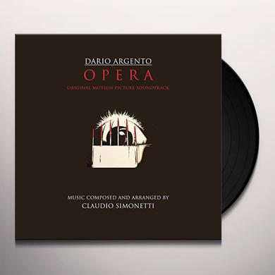 Claudio Simonetti OPERA (DARIO ARGENTO) - O.S.T. Vinyl Record
