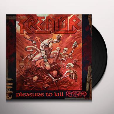 Kreator PLEASURE TO KILL Vinyl Record