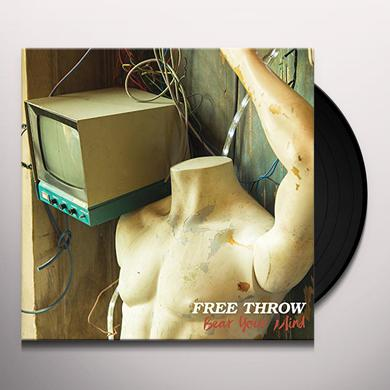 Free Throw BEAR YOUR MIND Vinyl Record