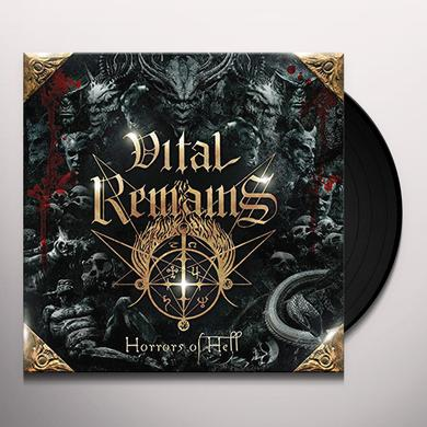 Vital Remains HORRORS OF HELL (GOLD VINYL) Vinyl Record