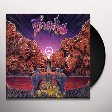 Thanatos REALM OF ECSTASY (ORANGE VINYL) Vinyl Record