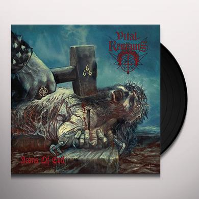 Vital Remains ICONS OF EVIL Vinyl Record