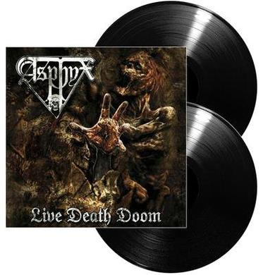 Asphyx LIVE DEATH DOOM Vinyl Record