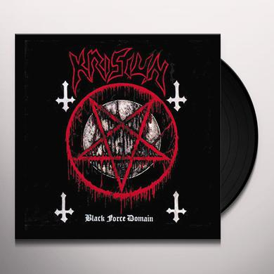 Krisiun BLACK FORCE DOMAIN Vinyl Record