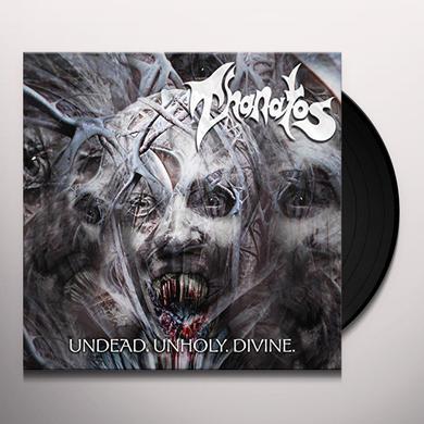 Thanatos UNDEAD. UNHOLY. DIVINE Vinyl Record