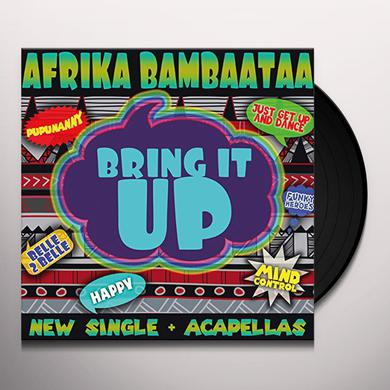 Afrika Bambaataa BRING IT UP Vinyl Record