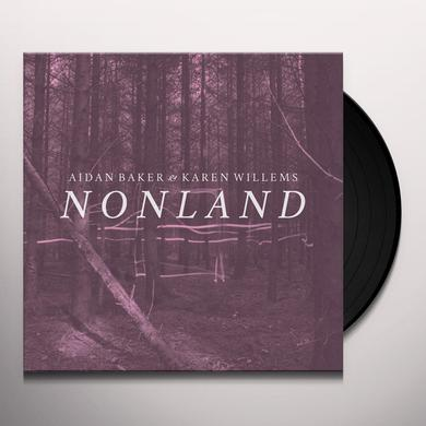 Aidan Baker / Karen Willems NONLAND Vinyl Record