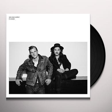Fai Baba SAD & HORNY Vinyl Record
