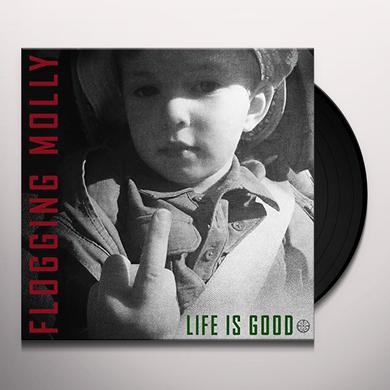 Flogging Molly LIFE IS GOOD Vinyl Record
