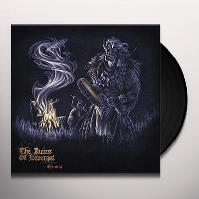 Ruins Of Beverast EXUVIA (DARK RED VINYL) Vinyl Record
