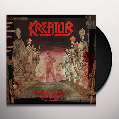 Kreator TERRIBLE CERTAINTY Vinyl Record