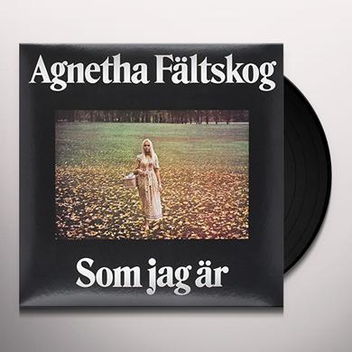 Agnetha Faltskog SOM JAG AR Vinyl Record