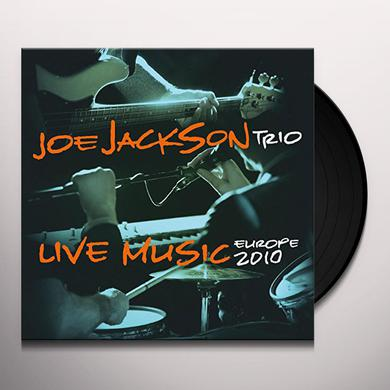 Joe Jackson LIVE MUSIC Vinyl Record