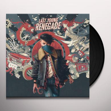 All Time Low LAST YOUNG RENEGADE Vinyl Record