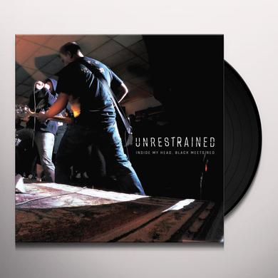 Unrestrained INSIDE MY HEAD BLACK MEETS RED Vinyl Record