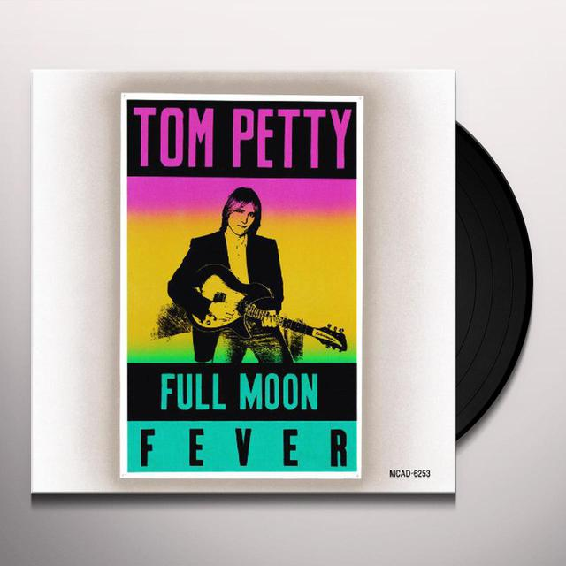 Tom Petty And The Heartbreakers Full Moon Fever Vinyl Record