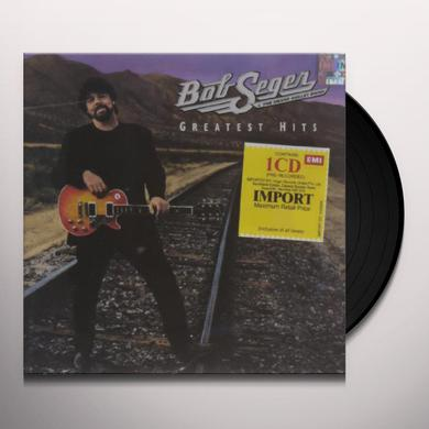 Bob Seger & The Silver Bullet Band GREATEST HITS Vinyl Record