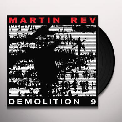 Martin Rev DEMOLITION 9 Vinyl Record