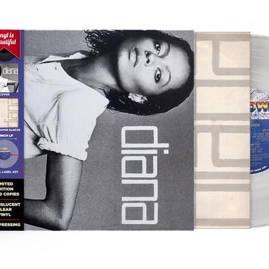 Diana Ross DIANA - CLEAR 180 GRAM VINYL, IMPORT 2017 Vinyl Record