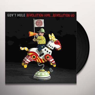 Govt Mule REVOLUTION COME REVOLUTION GO Vinyl Record